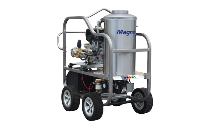 Portable Hot Water Pressure Washers - Magnum by Nilfisk